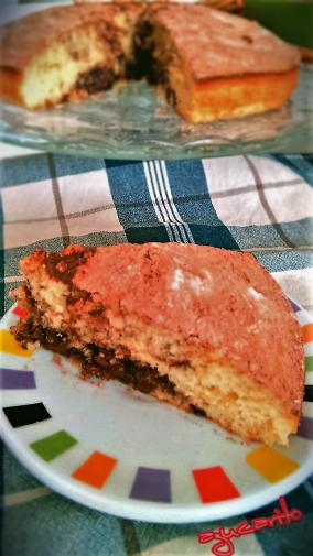Bizcocho nata y Nutella